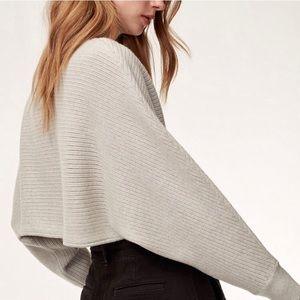 Wilfred free lolan crop sweater